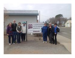 Image of master gardeners group